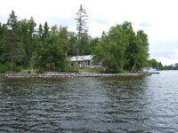 Temagami Red Cedar Lake cottage for sale