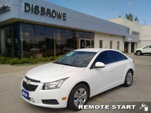 2014 Chevrolet Cruze 1LT  Remote Start, Bluetooth, Local Trade