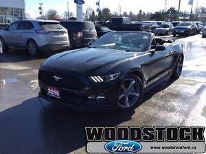2016 Ford Mustang V6   BEAT THE SPRING MARKET! - AUTO - CONVERTI