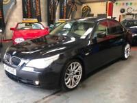 BMW 5 SERIES 545i V8 4.4 V8 Black Auto Petrol, 2004 (04)