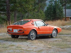 Rare collectible 1971 SAAB Sonett III