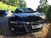 2008 ALFA ROMEO 159 JTDM 6 SPEED DIESEL SPORT TOTAL SPEC PX SWAP
