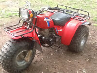 1984 Shaft Drive Honda Big Red 200cc
