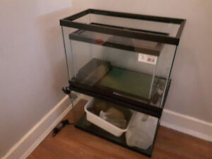 Reptile tanks , lids , heaters and accessories for sale.