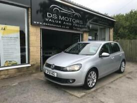 2011/61 Volkswagen Golf 2.0TDI ( 140ps ) GT Silver leather diesel