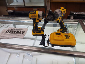 20V MAX XR Lithium-Ion Brushless Hammer Drill And Impact Driver