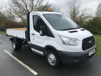 2016 16 FORD TRANSIT TIPPER 350 2.2TDCI 125BHP S/C L3 H1 1 OWNER ANY UK DELIVERY