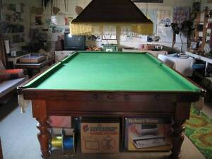 FULL SIZE BILLIARD TABLE WITH CUES AND BALLS Oakleigh South Monash Area Preview