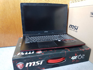 MSI Apache Pro - GE62 6QD-274US (Includes 2 Year Protection)