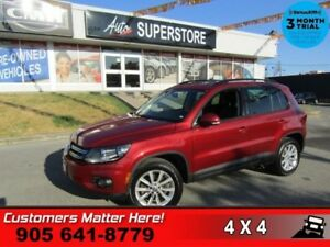 2015 Volkswagen Tiguan Comfortline  AWD LEATHER ROOF CAMERA HS B