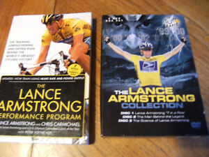 Lance armstrong dvd collection