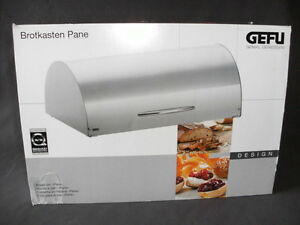 GEFU - Bread Bin (Ulber Design, product of Germany) - NEW. BOXED