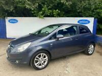 2010 Vauxhall/Opel Corsa 1.2i 16v ( 85ps ) ( a/c ) SXi 3 Door Hatchback In Blue