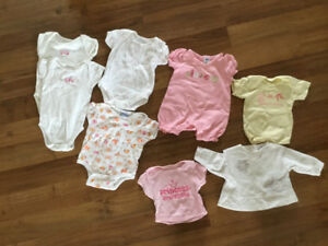 Girl 0-3 month clothes 25-piece
