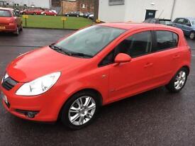 0707 Vauxhall Corsa 1.3CDTi 16v ( 90ps ) Design Red 5 Door MOT 12m