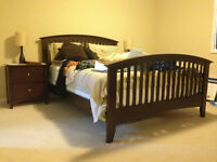 Queen Espresso Full Bedroom Set