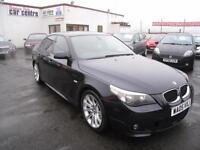 BMW 535D 3.0 Twin Turbo Diesel Automatic M Sport . Full Leather. 12 Months MOT