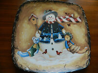 Large Christmas Serving Plate