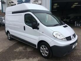 2011 11 RENAULT TRAFIC LWB HIGH ROOF 115 BHP WITH SAT NAV IDEAL CAMPER VAN