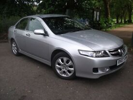 Honda Accord 2.2 I-CTDI SPORT (silver) 2007 DIESEL WITH LEATHER 07957449886