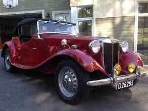 MG TD 1952  un vrais ! Tout sur la tôle (etais 34,500$ )