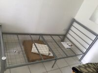 House clearance sale - Single bed with memory foam mattress