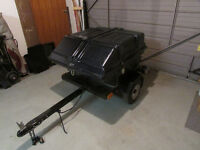 motorcycle trailer / small car