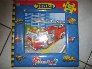 NEW Tonka puzzle book(5x12pc)