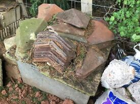 Rosemary Clay Valley tiles approx x50 in good condition. £2 each