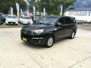 2013 Ssangyong stavic 7 seater turbo diesel only 46,000 km Auto Mount Druitt Blacktown Area Preview