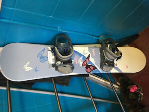 132 cm snowboard with bindings