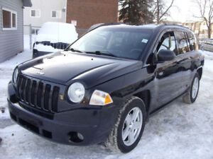 2008 Jeep Compass 4x4 SUV, Remote Starter, OneOwner, No Accident