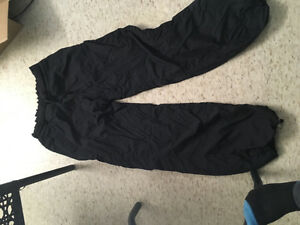 LULU lemon studio lined black