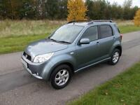 2006 56 Daihatsu Terios SE 1.5 Automatic Auto Top spec LOW MILES 4X4