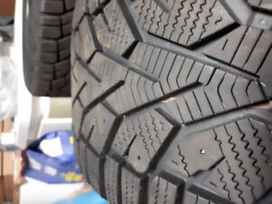 Winter tires and rims 205/55R16 94T