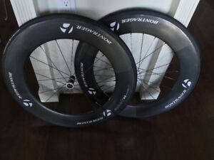 Bontrager Aeolus 9 D3 Deep Dish Front and Back Wheels