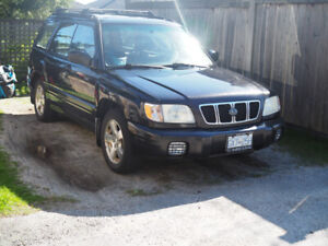 2001 Subaru Forester Ltd Ed