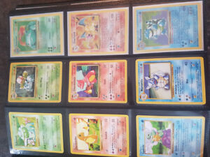 Cartes Pokemon,  Base set à Néo Set, NM - LP