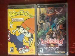 Parappa The Rapper & Darkstalkers Chronicles - PSP
