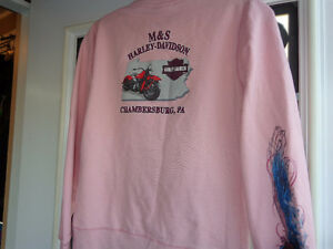 """Harley """"hoodie"""" in ladies small-  recycledgear.ca Kawartha Lakes Peterborough Area image 7"""