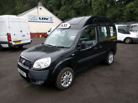 Fiat Doblo 1.9 Multijet 120 Dynamic TAXI WITH REAR WHEELCHAIR WINCH AND RAMPS,