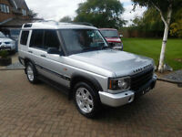2002 52 Reg Land Rover Discovery 2.5 Td5 ES Auto (7 seat)