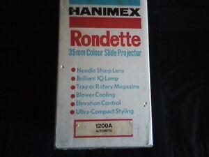 Hanimex Rondette 35mm Colour Slide Projector. Sarnia Sarnia Area image 2