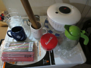 KITCHEN STUFF-NEW & EUC!