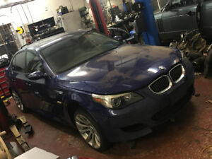 2006 BMW M5 E60 V10 550HP NEEDS ROD BEIRINGS 10900$@902-293-6969