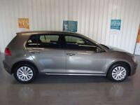 2014 14 VOLKSWAGEN GOLF 1.6 S TDI BLUEMOTION TECHNOLOGY 5D 103 BHP DIESEL