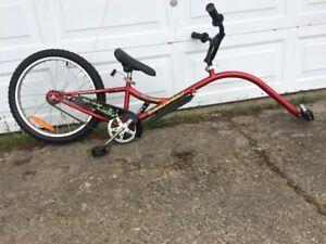 Girafe de vélo avec roue de 20 po. de marque Louis Garneau