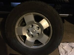 """18"""" Factory Toyota rims and tires"""