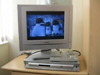 LODOS FLATSCREEN TV/PC MONITOR AND LIMIT DVD PLAYER