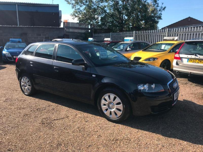 2005 Audi A3 16 Special Edition Sportback Black 5dr Hatch Any